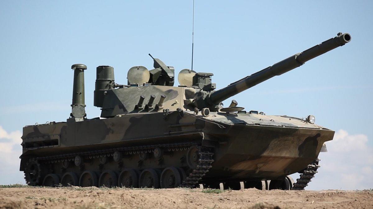 Плавающий танк Спрут-СДМ1