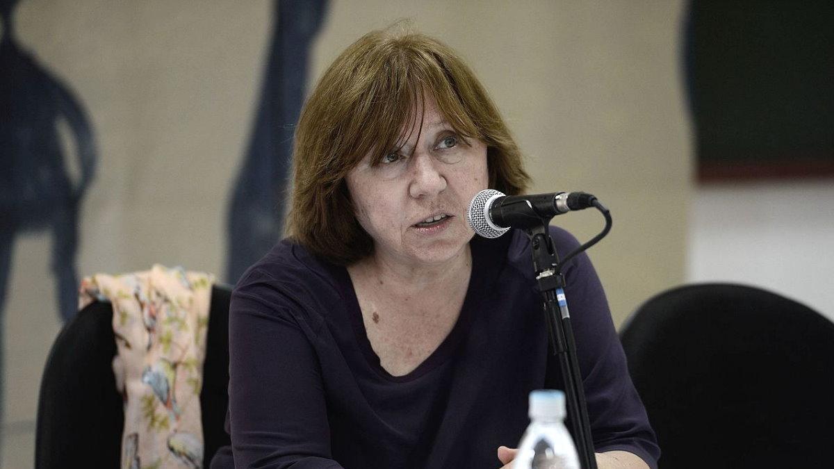 Писательница Светлана Алексиевич