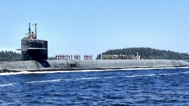 Подводная лодка USS Henry M. Jackson (SSBN 730)