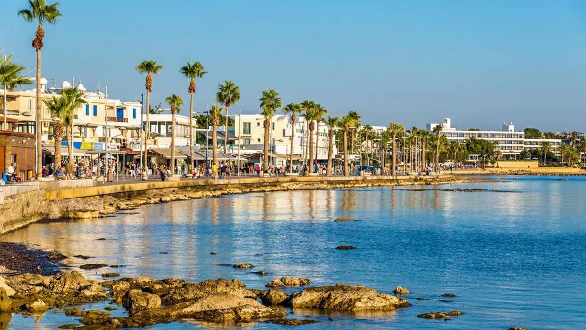 Кипр набережная