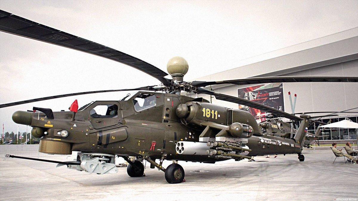 вертолет Ми-28НМ Ночной охотник