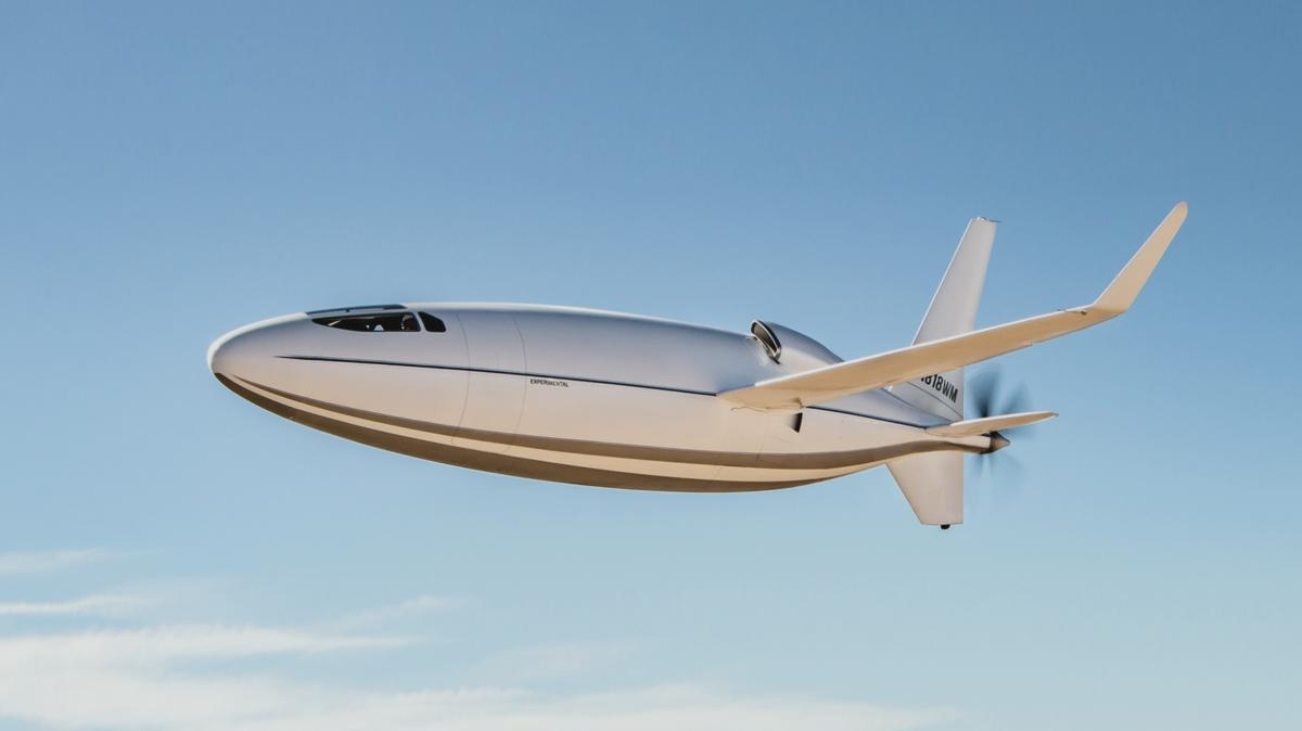 самолет-пуля Celera 500L