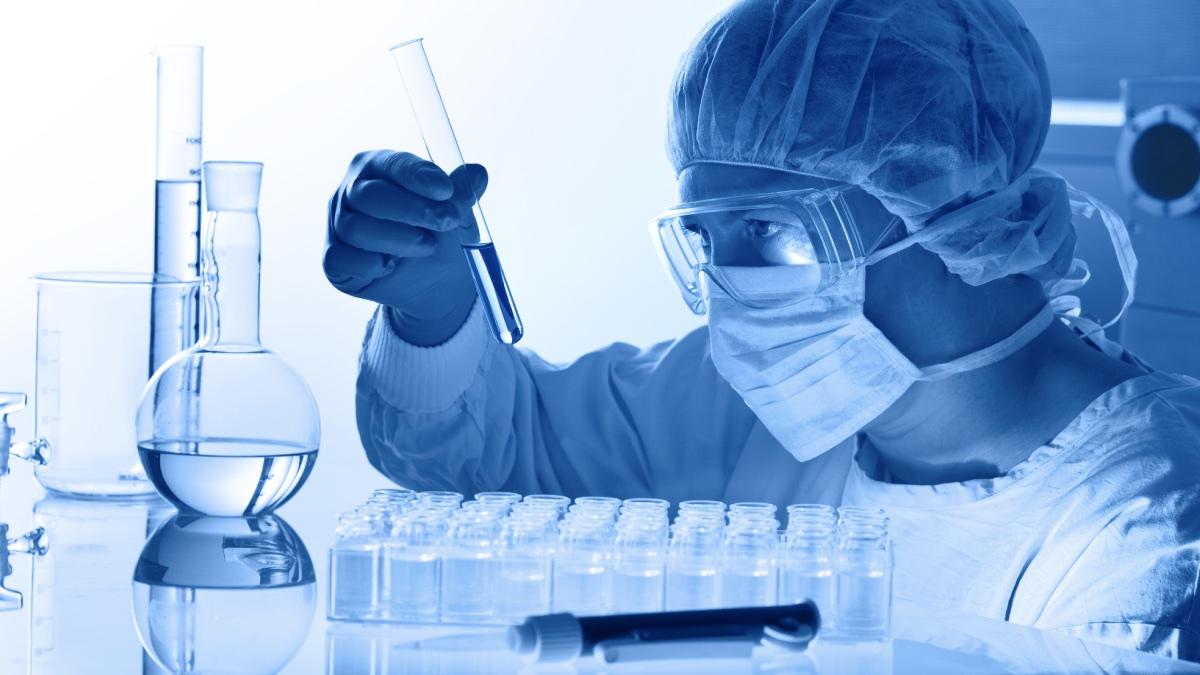 испытание исследование вакцина ученый пробирка