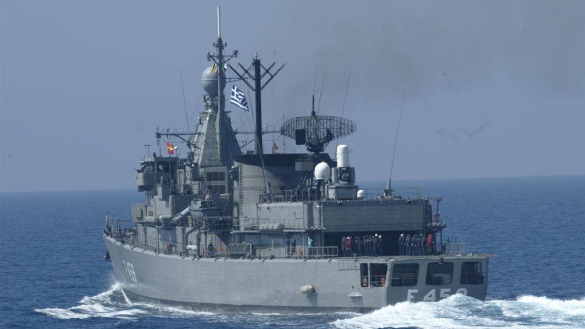 Греция корабль флот
