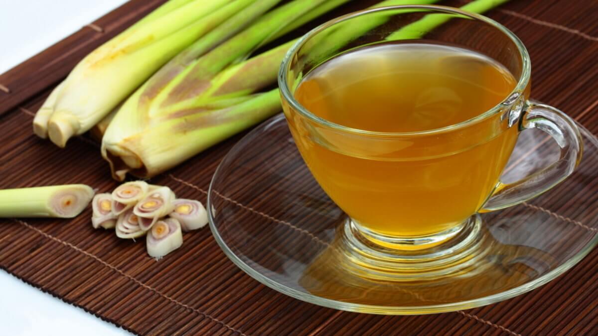 Чайный напиток Цимбопогон Лемонграсс Цитронелла лимонная трава