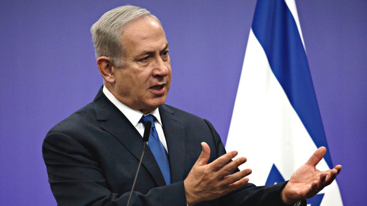 Премьер-министр Израиля Биньямин Нетаньяху - Benjamin Netanyahu один
