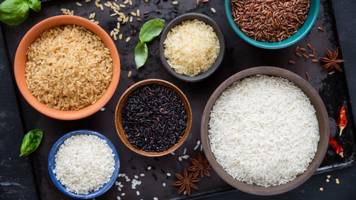Сорта риса еда пища