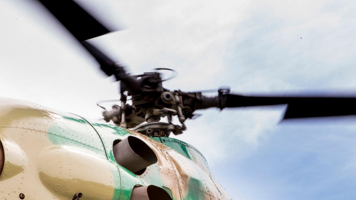 Лопасти вертолёт
