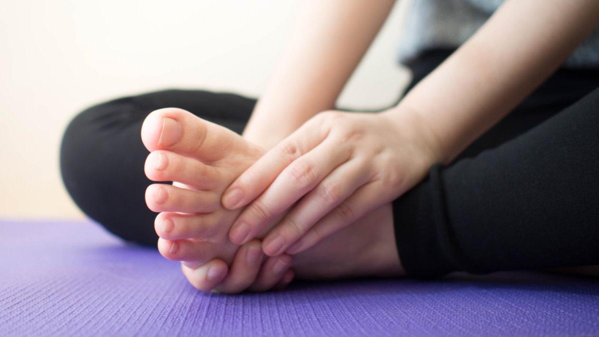 Онемение ноги затекла нога массаж