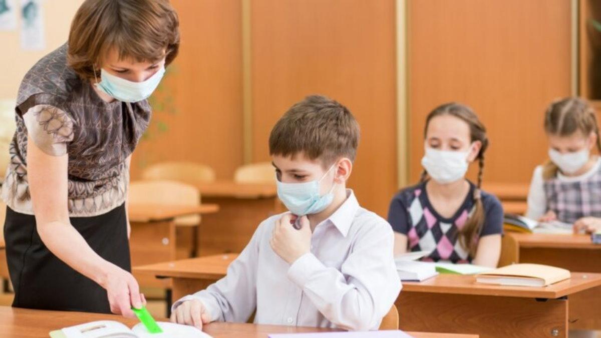 Школа карантин ГРИПП ОРВИ коронавирус маска
