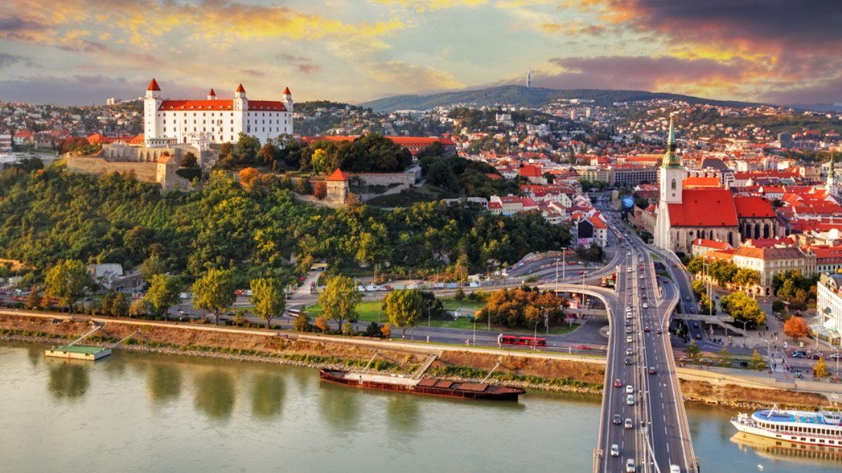 Братислава Словакия туризм два