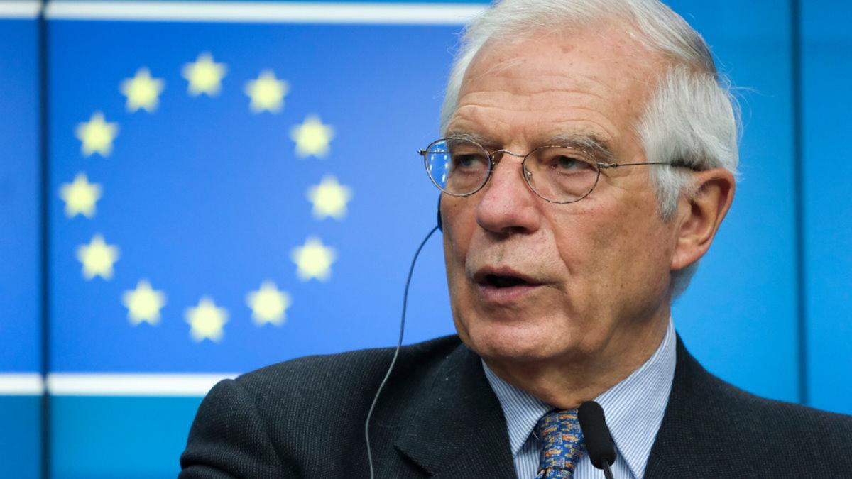 Глава евродипломатии Жозеп Боррель - Josep Borrell один