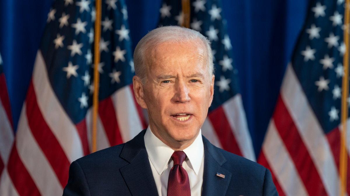Джозеф Джо Байден - Joseph Joe Biden флаги два
