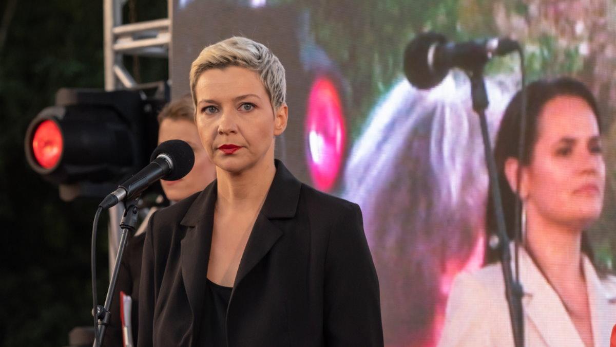Мария Колесникова на сцене