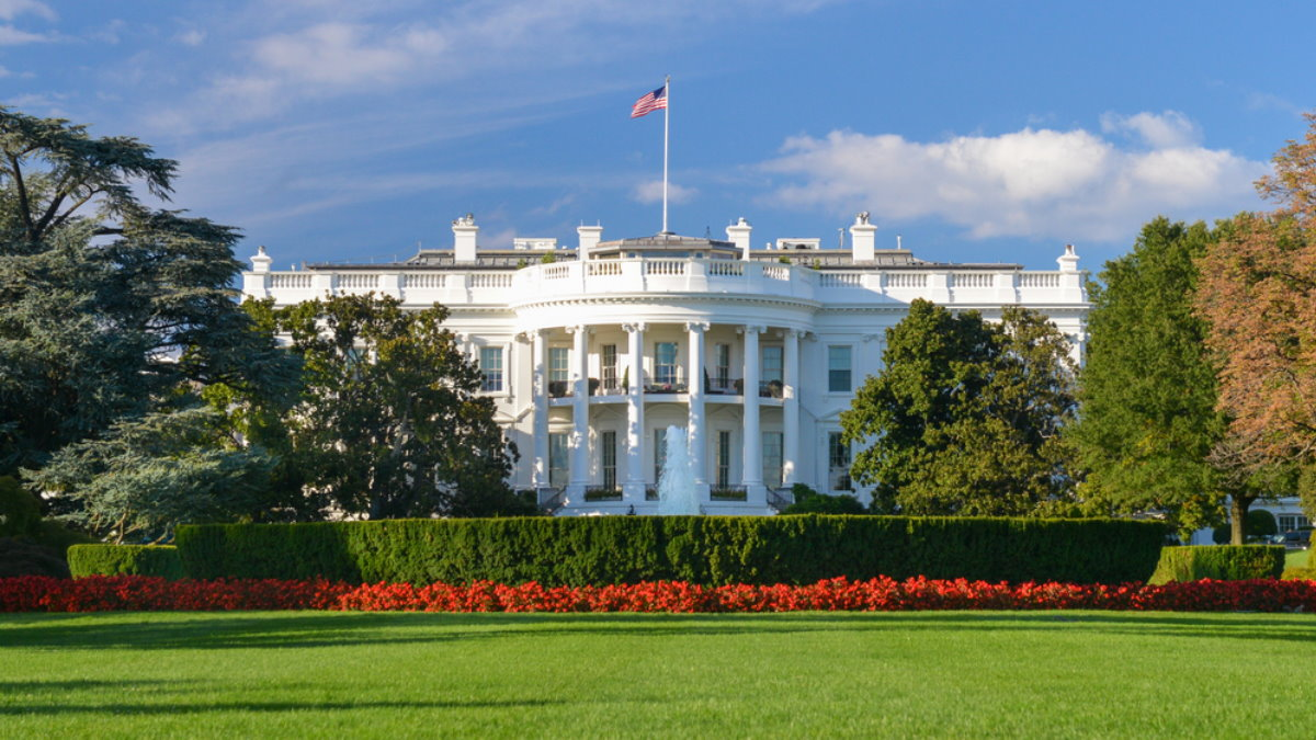 США Белый дом четыре