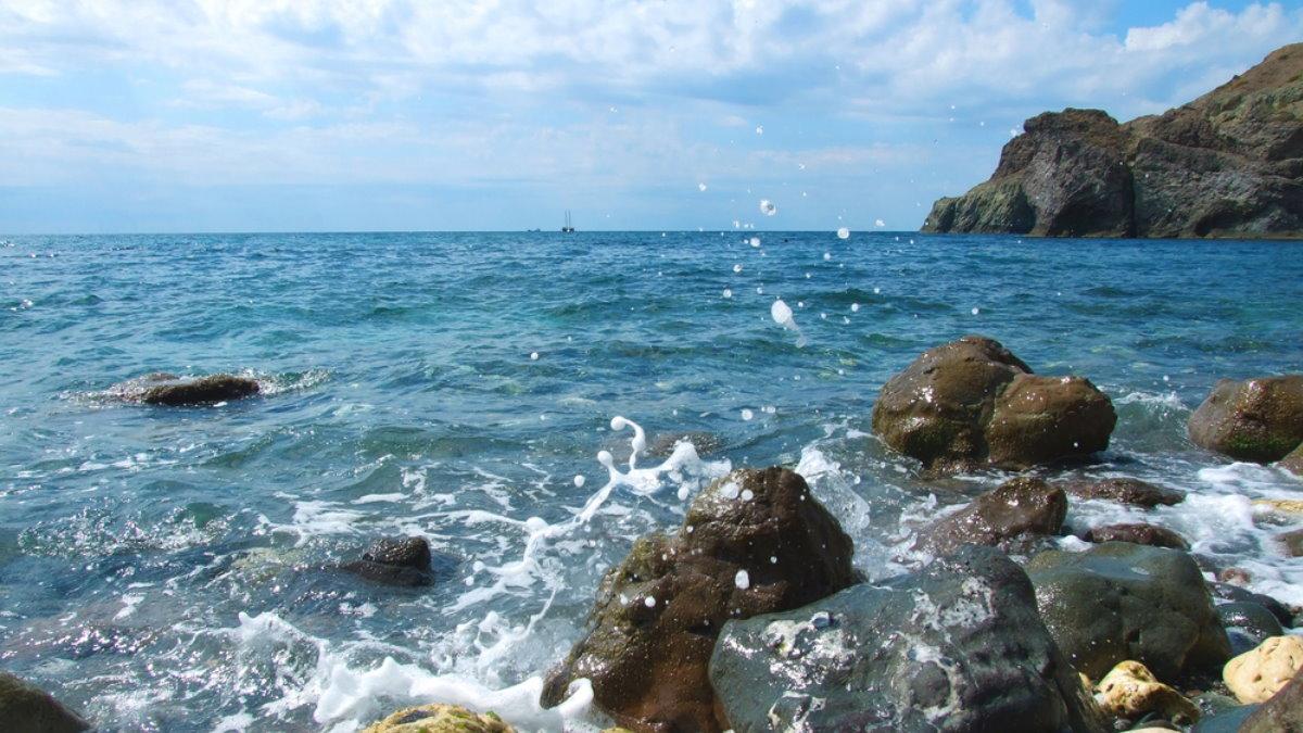 Крым море вода