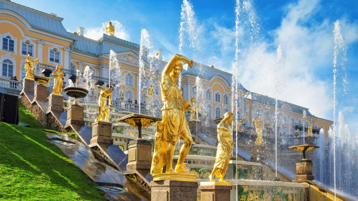 Петергоф Санкт-Петербург туризм