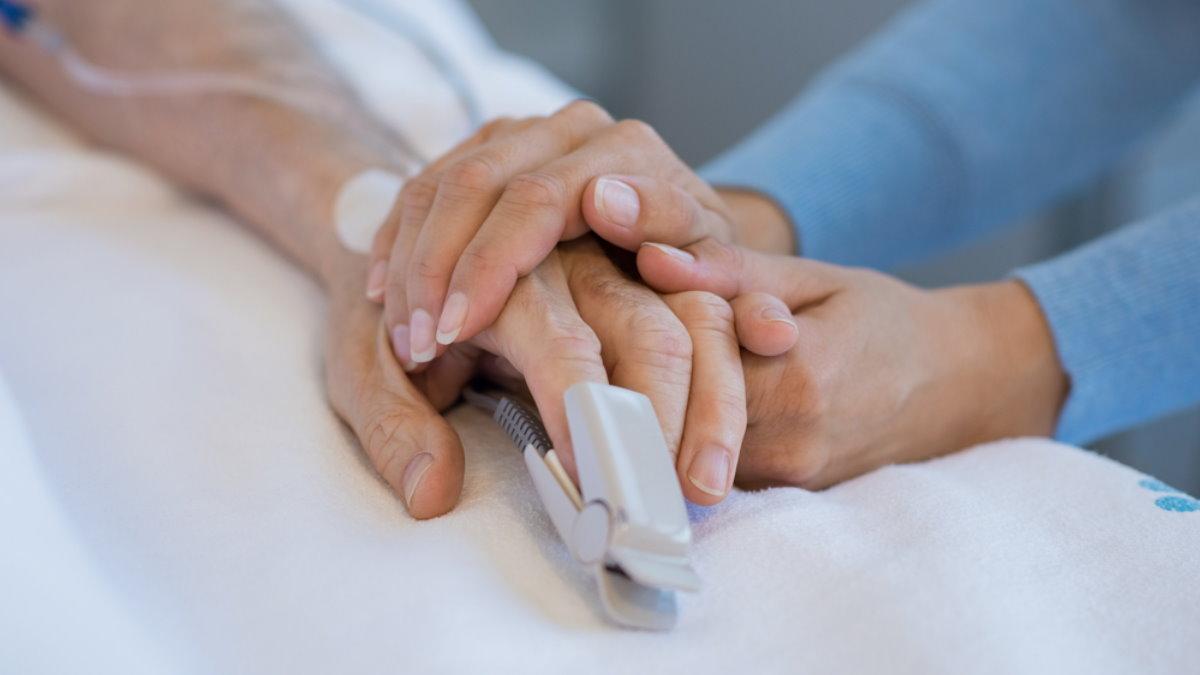 Реанимация родственники с пациентом в больнице
