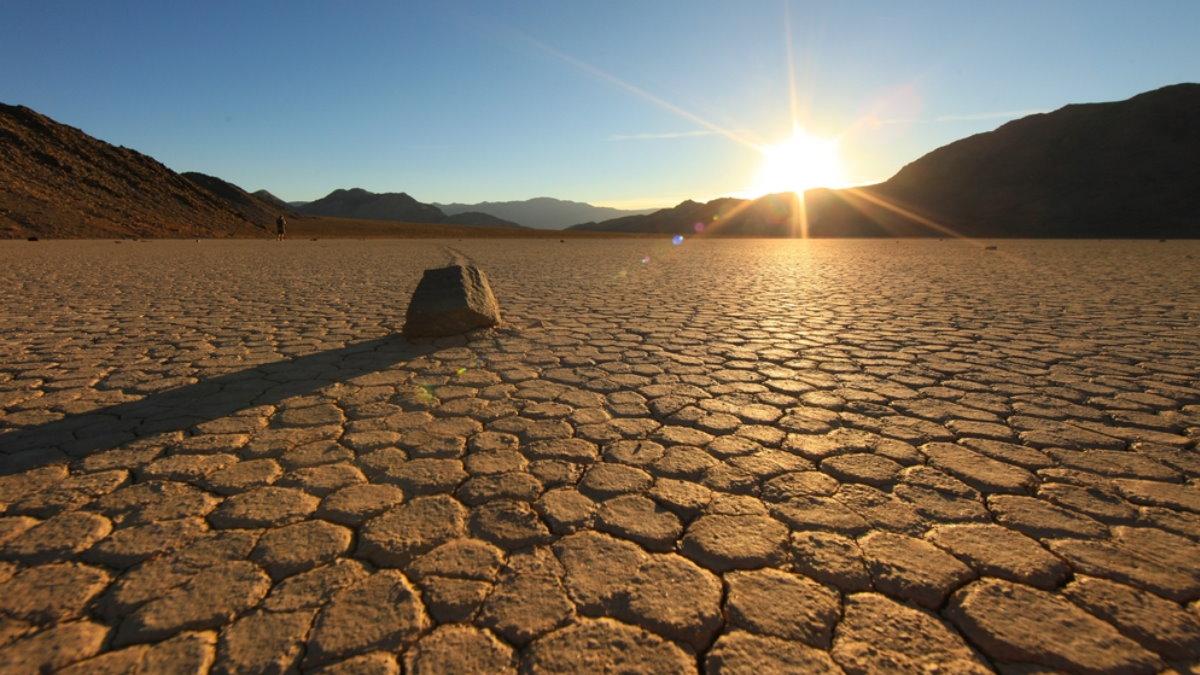 Национальный парк Долина Смерти в Калифорнии США