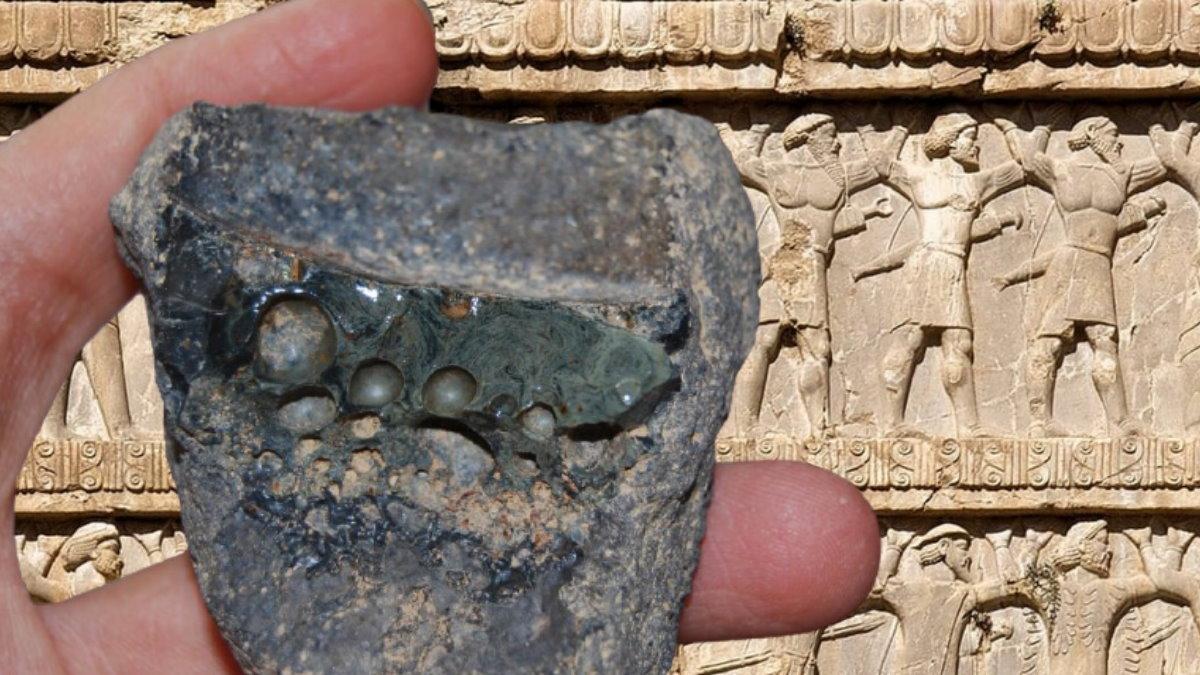 Хромированная сталь и Древняя Персия