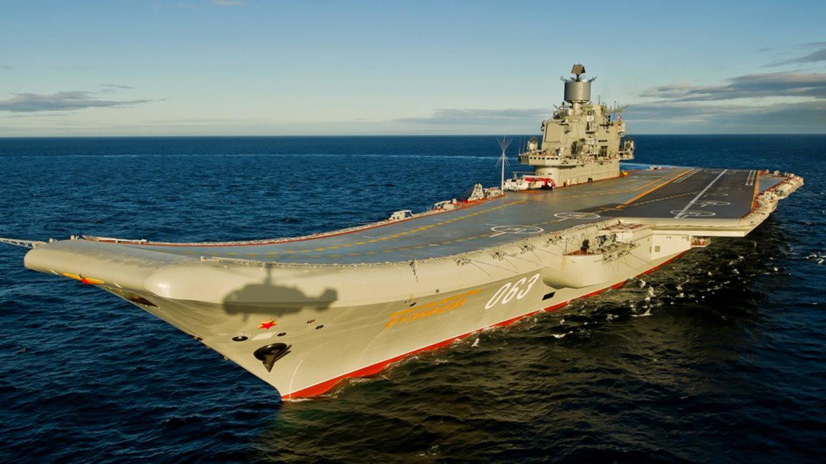 Тяжёлый авианесущий крейсер проекта 1143.5 «Адмирал Флота Советского Союза Кузнецов»