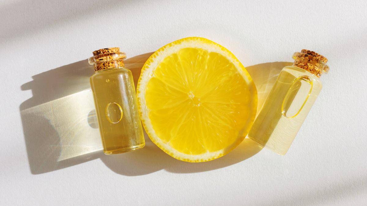 Витамин C лимон эфирное масло