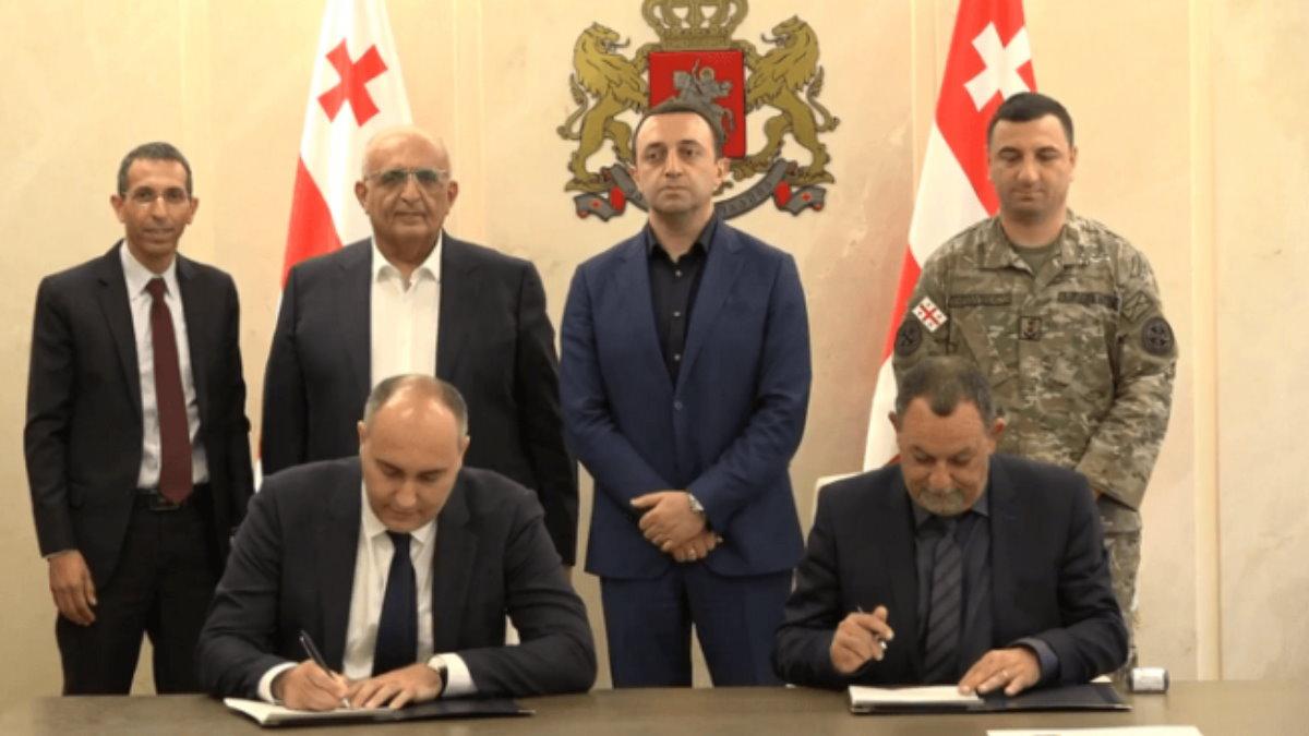 Компания Rafael Advanced Defense Systems и министерство обороны Грузии подписали соглашение о сотрудничестве