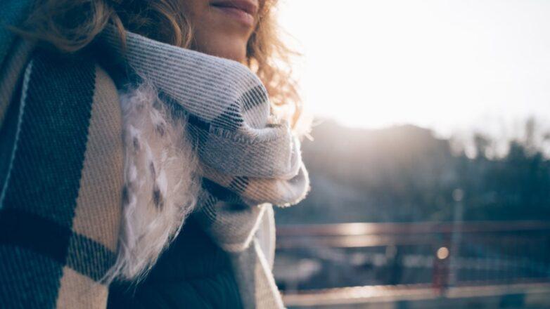 Погода холодная