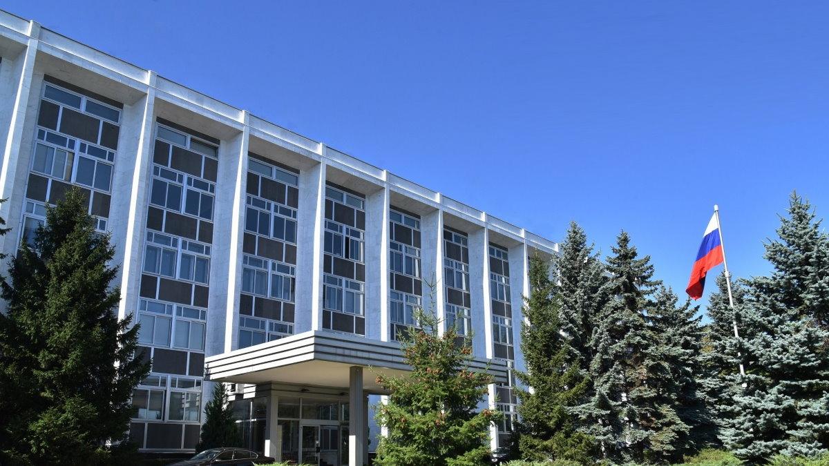 Посольство России в Болгарии здание