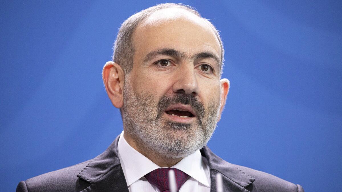 премьер-министр Армении Никол Пашинян два