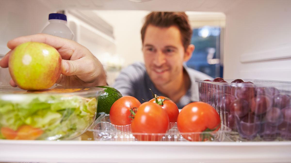 Хранение еды в холодильнике