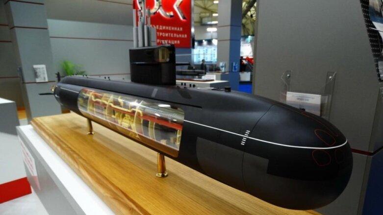 Макет подводной лодки 5-го поколения «Калина»