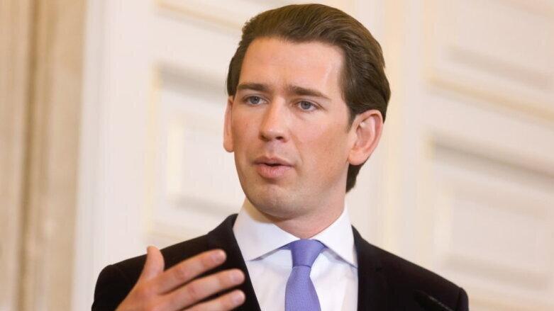 Федеральный канцлер Австрии Себастьян Курц