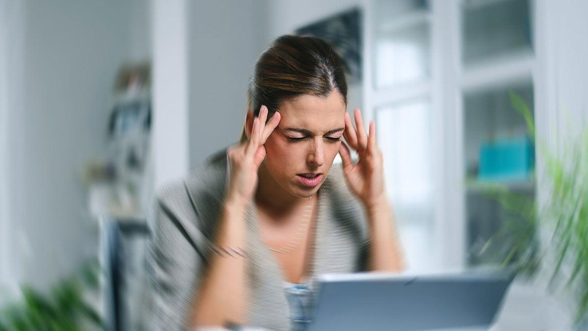 мигрень головная боль головокружение