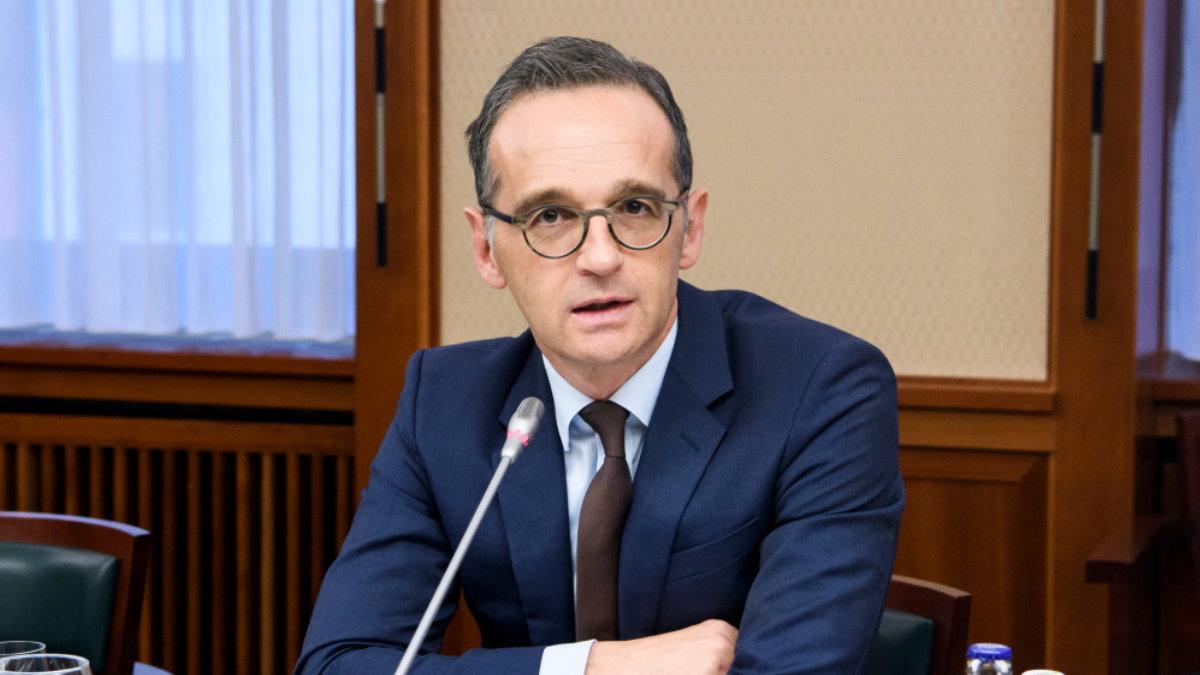 Министр иностранных дел Германии Хайко Маас - Heiko Maas