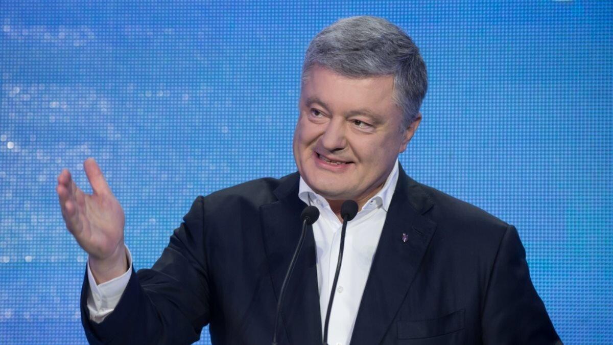 Пётр Порошенко один