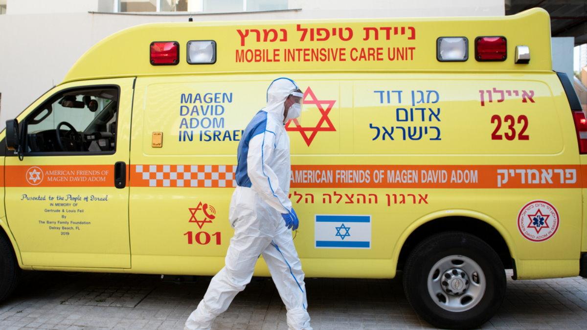 Израиль коронавирус скорая помощь