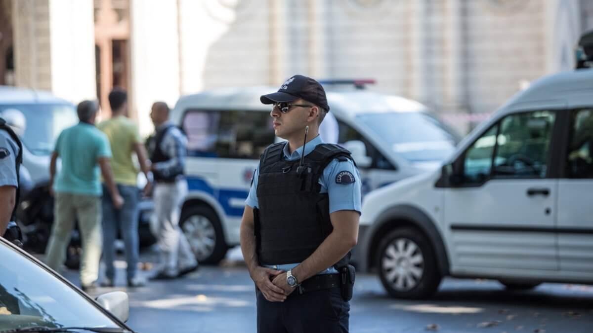 Турция полиция полицейский