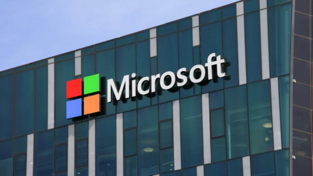 Microsoft логотип один
