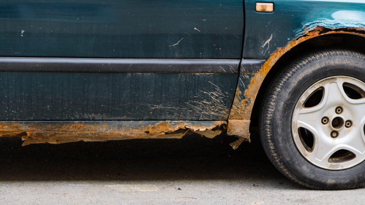 Автомобиль ржавчина коррозия