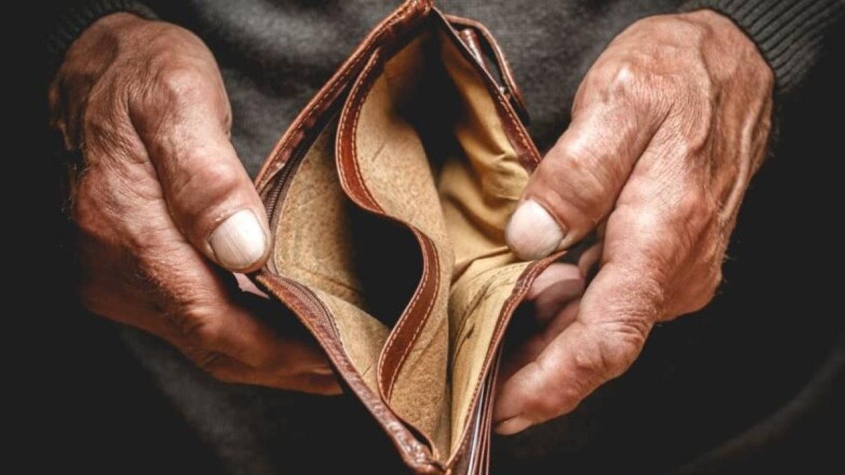 Пустой кошелёк бедность нет денег три