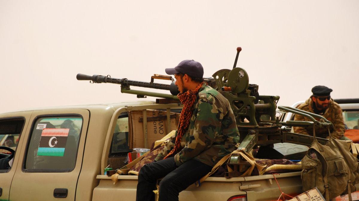Ливия повстанцы наёмники