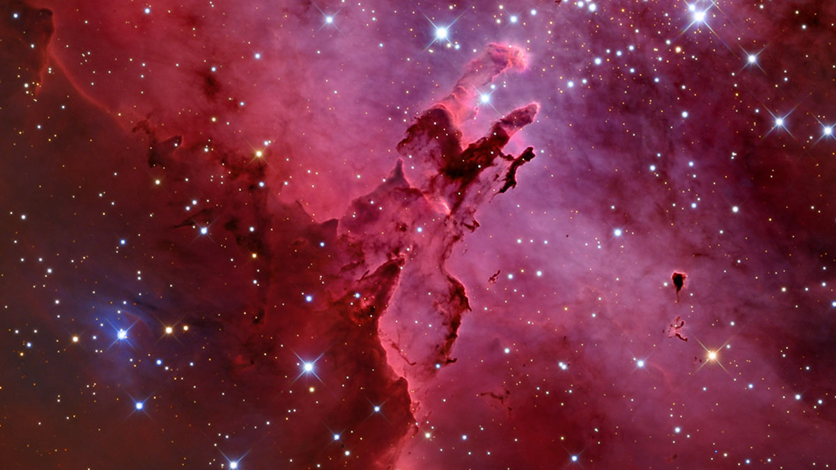 Звездная пыль туманность космос пространство вселенная