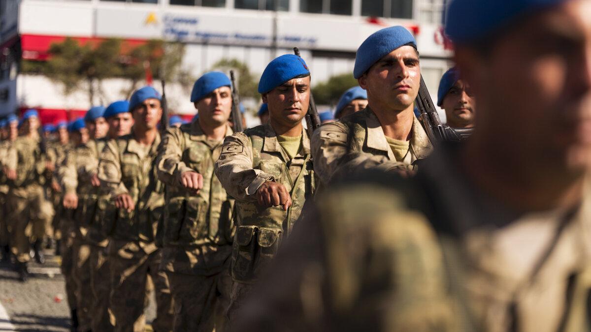 турецкие военные коммандос