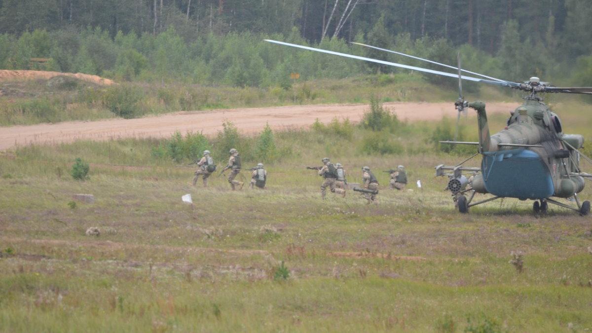 Военные учения ОДКБ