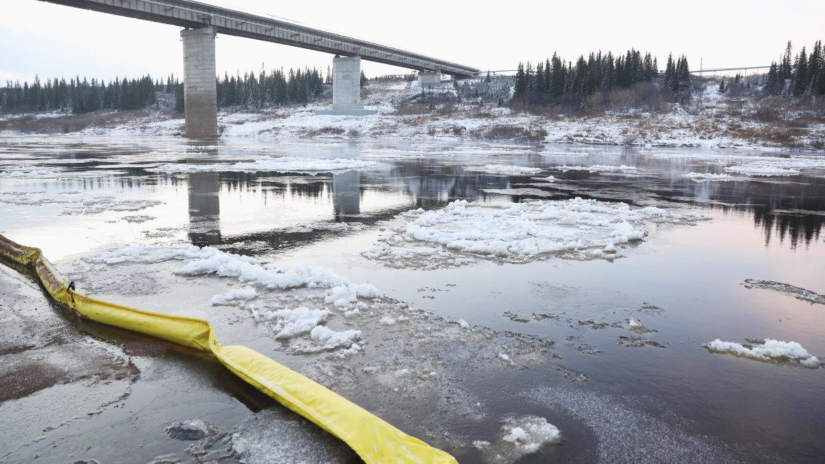 Загрязнение реки в Ненецком автономном округе остановили