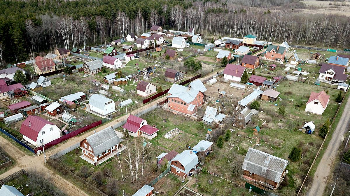 дачные участки в Московской области