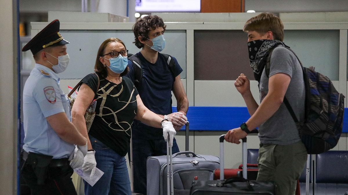 аэропорт пассажиры шереметьево коронавирус карантин covid-19