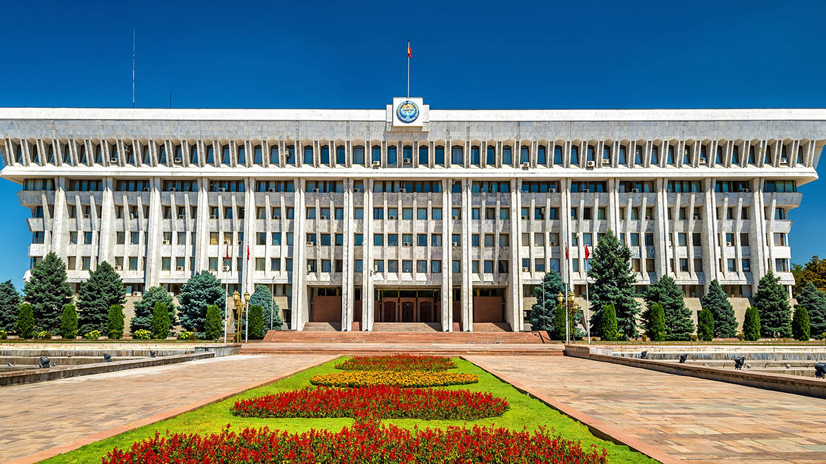 парламент Киргизии здание