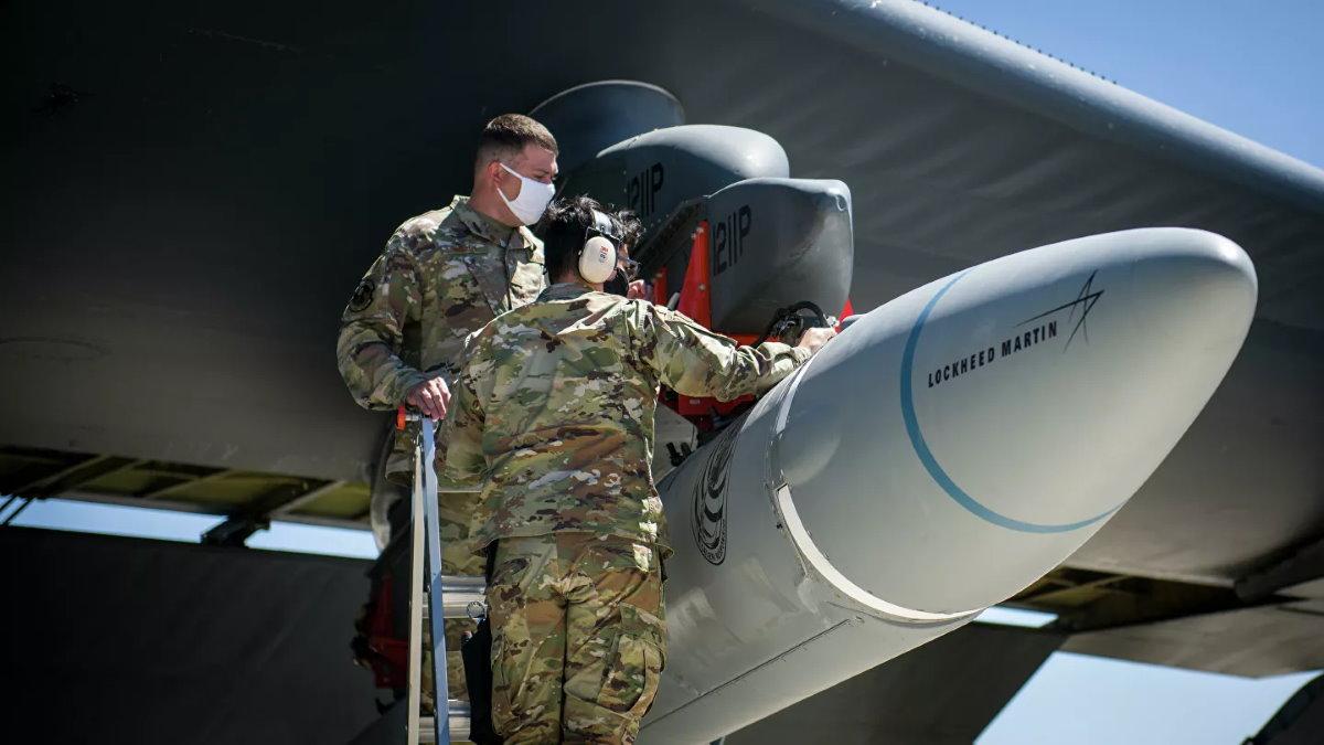 Гиперзвуковая крылатая ракета AGM-183A Air-Launched Rapid Response Weapon - ARRW